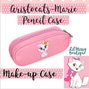 Disney Aristocat Pink Pencil/Make-up Case